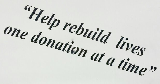 helping rebuild lives