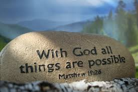 with God all this are possible